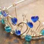 Commission a Sterling Silver Tiara (with stones and design options)