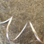 Sterling Silver Large Coils Spiral Choker