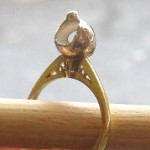 18ct gold and silver ring