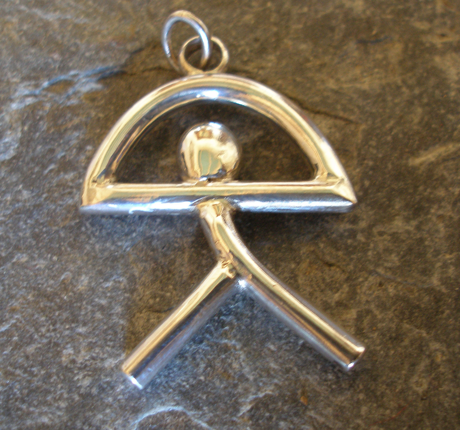 Sterling Silver Indalo Man
