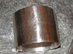 Chunky Textured Silver Large Cuff Bangle (or in 9ct Gold)