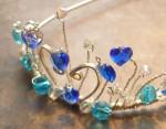 sterling silver tiara