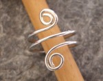 Spiral Toe or Finger Ring