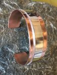 Copper and Silver Bangle