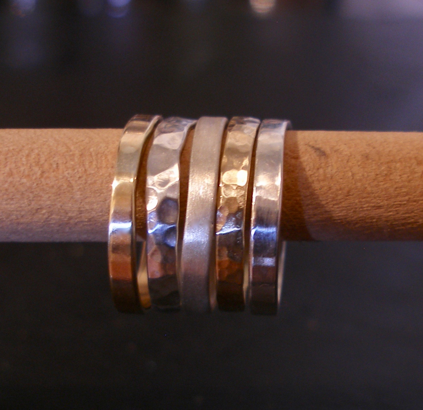 Eco Silver Stackable Rings