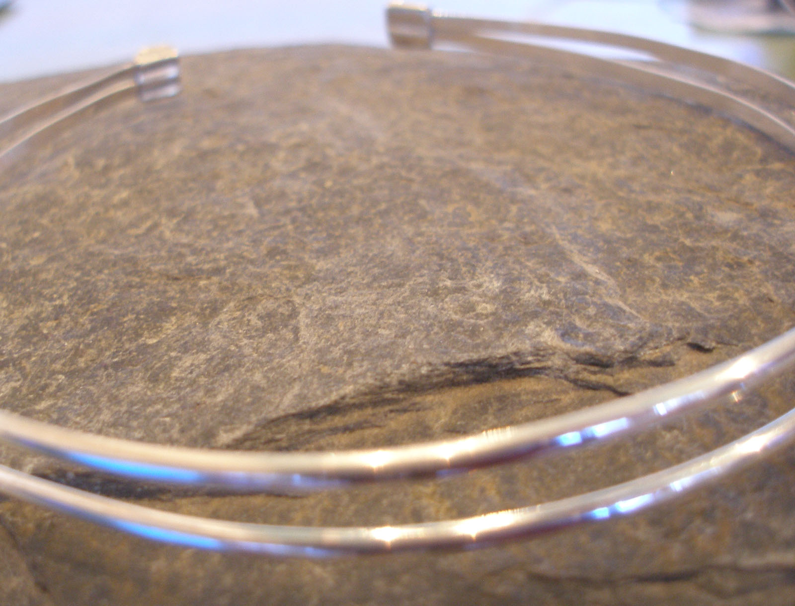 Sterling Silver 2 strand Double Head Band