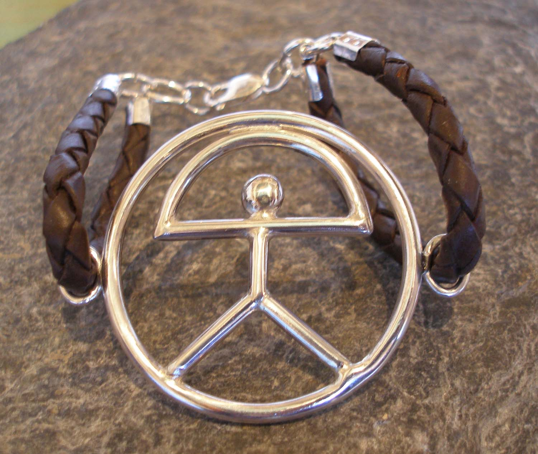 Sterling Silver El Indalo Man Bracelet